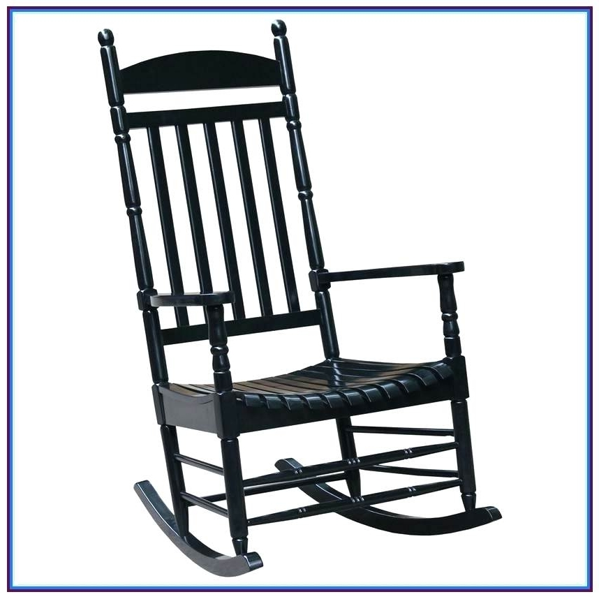 Latest Outdoor Vinyl Rocking Chairs Intended For Black Porch Rocking Chairs Large Size Of Decorating Outdoor Vinyl (View 3 of 20)