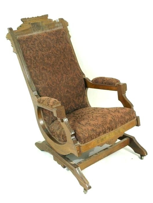Latest Platform Rocker Chair Victorian Rocking Chair Folding Rocking Chair For Victorian Rocking Chairs (View 4 of 20)