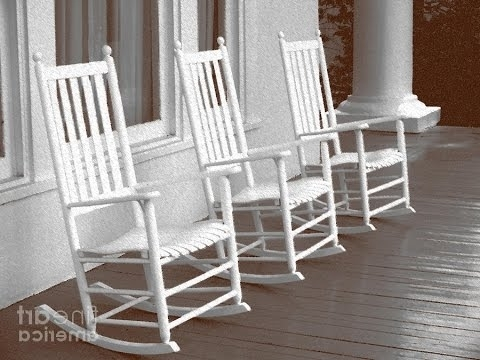 Latest Rocking Chairs At Home Depot Inside White Rocking Chair – White Rocking Chair Outdoor Home Depot – Youtube (View 5 of 20)