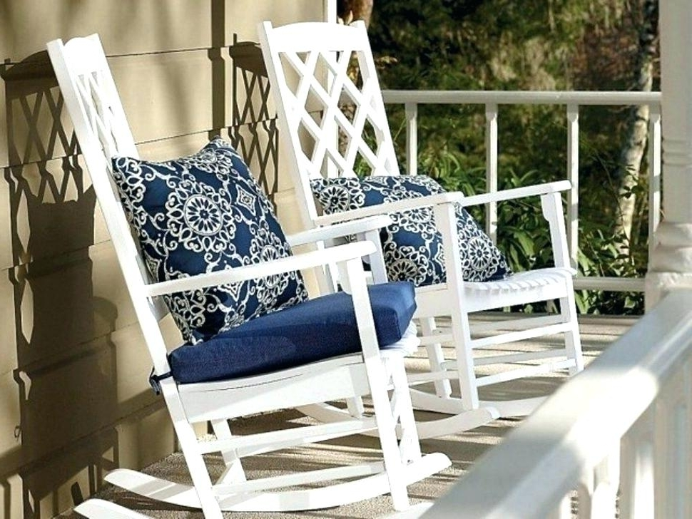 Lowes Outdoor Rocking Chair Arms — All Modern Rocking Chairs : Relax With Most Recently Released Unique Outdoor Rocking Chairs (View 7 of 20)