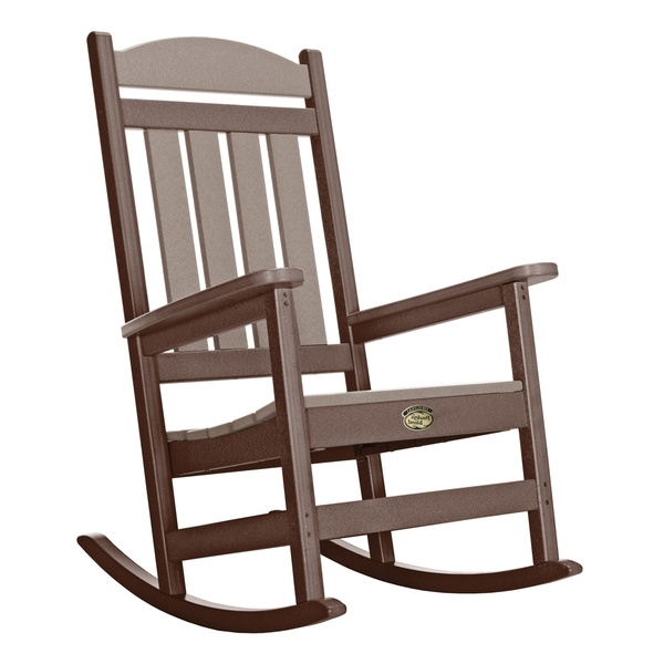 Manhattan Patio Grey Rocking Chairs Inside Best And Newest Shop Pawleys Island Porch Rocker – On Sale – Free Shipping Today (View 5 of 20)