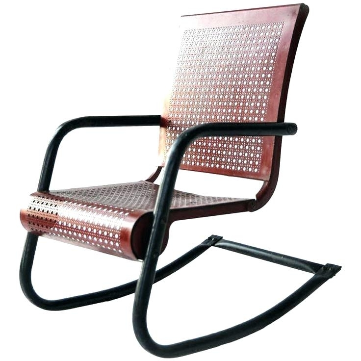 Metal Rocking Chair Breathtaking Runners – Savaayo With Regard To Well Liked Patio Metal Rocking Chairs (View 8 of 20)