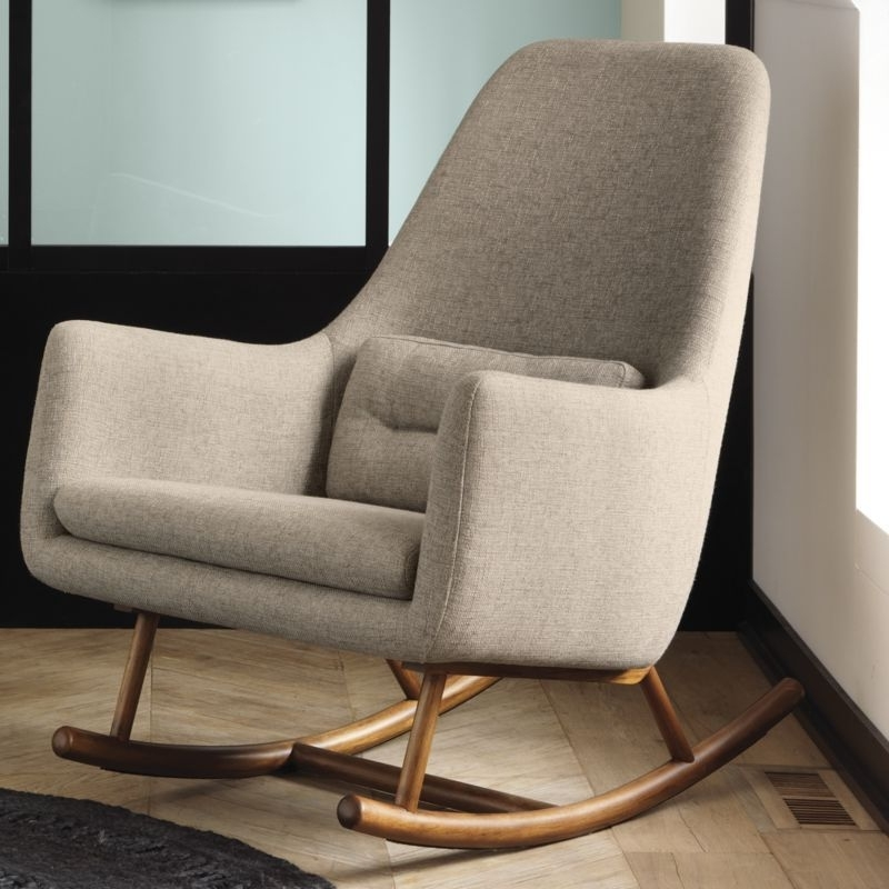 Modern Inside Current Rocking Chairs For Living Room (View 13 of 20)