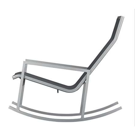 Modern Patio Rocking Chairs Pertaining To Widely Used Awesome Modern Outdoor Rocker Awesome Modern Outdoor Rocking Chairs (View 9 of 20)