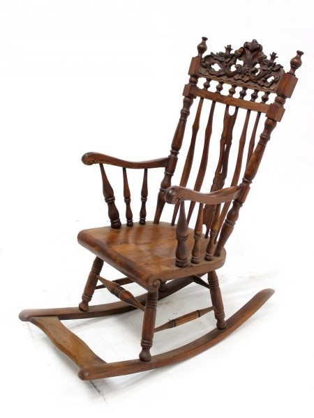 Most Current Old Fashioned Rocking Chairs Throughout Antique Rocking Chairs Old Fashioned Rocking Chairs – Armen Chairs (View 8 of 20)