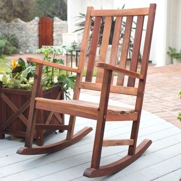 Most Current Patio Wooden Rocking Chairs Within Plastic Wood Rocking Chairs Composite Click To Zoom With Chair Kits (View 5 of 20)