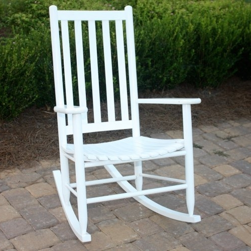 Most Current Rocking Chairs For Outside With Outside Rocking Chairs – Vsvinyl (View 3 of 20)