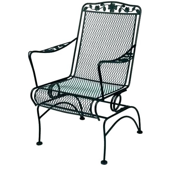Most Current Rod Iron Rocking Chairs Wrought Chair Costco Canada – Thejumpoff (View 6 of 20)