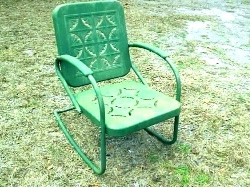 Most Current Wrought Iron Rocker Patio Chairs – Brandgap (View 10 of 20)
