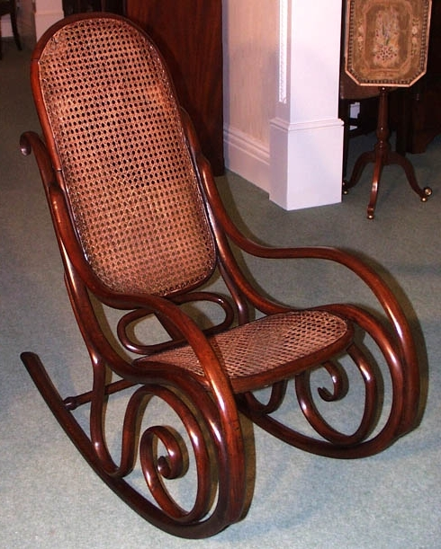 Most Popular Old Fashioned Rocking Chair Home And Furniture (View 9 of 20)