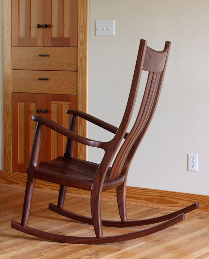 Most Popular Rocking Chairs For Adults Intended For Rocking Chairs: Award Winning And Handmade, The Weeks Rocker® (View 10 of 20)