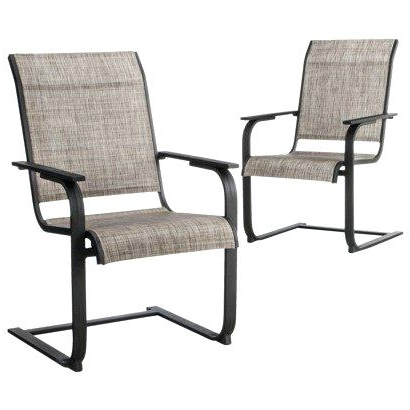 Most Popular Rocking Patio Furniture Set Get Quotations A Linden 2 Piece Sling Pertaining To Patio Sling Rocking Chairs (View 13 of 20)