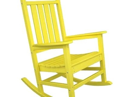Most Popular Yellow Wicker Chair Cushions Yellow Outdoor Chair Cushions Originals Inside Yellow Outdoor Rocking Chairs (View 2 of 20)