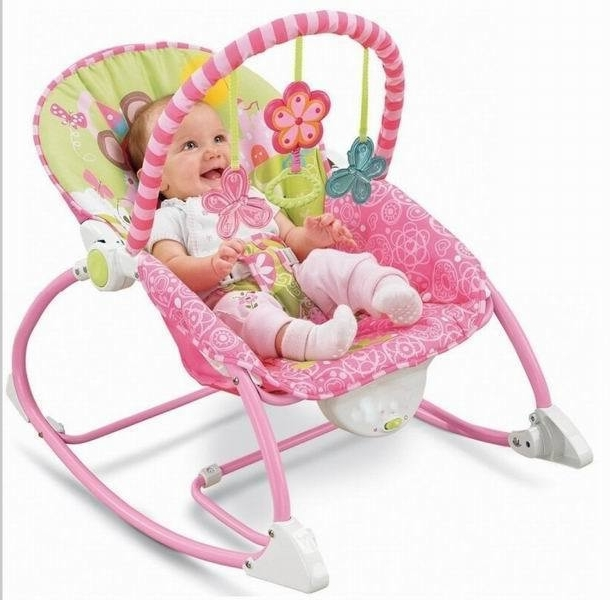Most Recent Ibaby Electric Baby Rocking Chair Newborn Musical Rocker Infant Pertaining To Rocking Chairs For Babies (View 11 of 20)