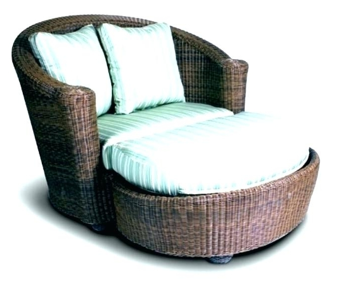 Most Recent Outdoor Chair With Ottoman Replacement Slings Patio Furniture Throughout Patio Rocking Chairs With Ottoman (View 19 of 20)