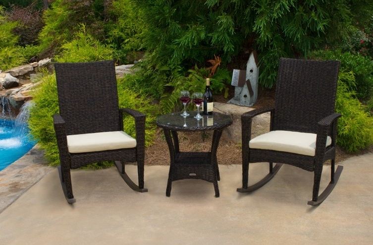 Most Recent Outdoor Patio Rocking Chairs Regarding Oak Rocking Chairs – Porch Swings – Patio Swings – Outdoor Swings (View 14 of 20)