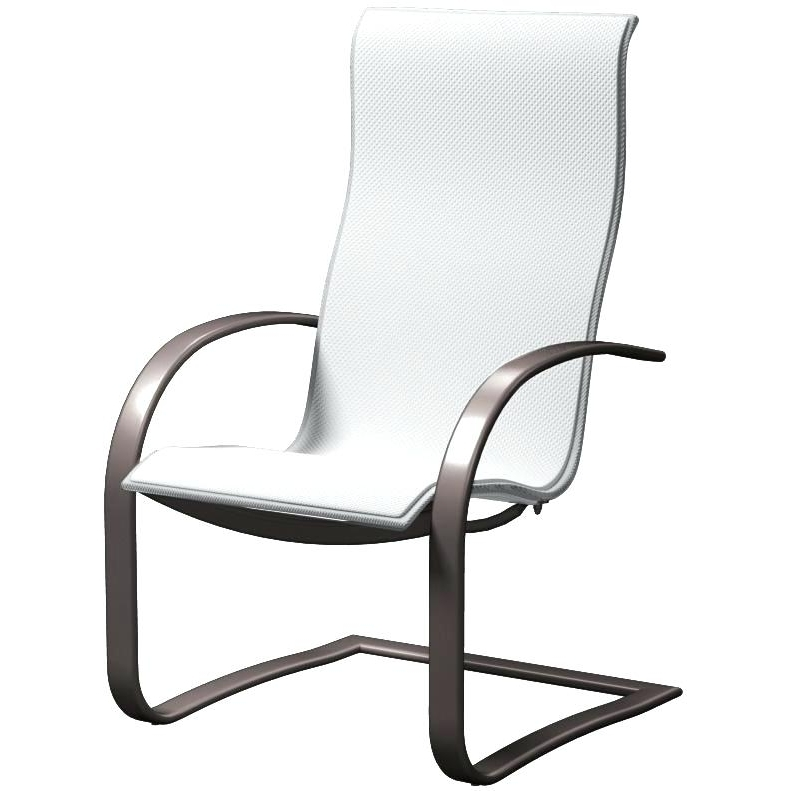 Most Recent Patio Sling Rocking Chairs For Rocking Patio Furniture Set Sling Spring Base Patio Dining Chair (View 9 of 20)