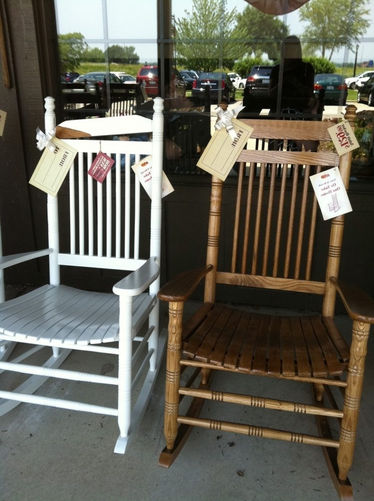 Most Recent Rocking Chairs : Cracker Barrel Rocking Chair Cushion Sets Coupon Intended For Rocking Chairs At Cracker Barrel (View 6 of 20)