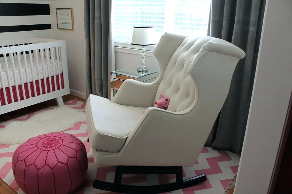 Most Recent Rocking Chairs For Baby Room Baby Nursery Rocking Chair And Gliders With Regard To Rocking Chairs For Baby Room (View 15 of 20)