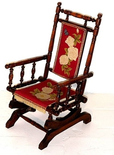 Most Recently Released Antique Rocking Chairs In Antique Rocking Chair (View 5 of 20)
