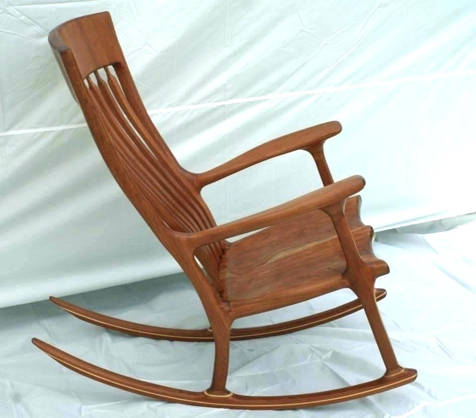 Most Recently Released High Back Rocking Chairs With Regard To Small Rocking Chair Best Small Wooden Rocking Chair Wooden Rocking (View 16 of 20)