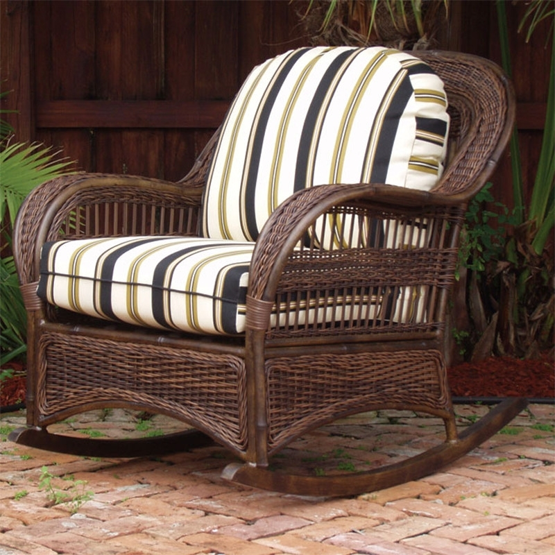 Most Recently Released Patio Rocking Chairs With Ottoman Pertaining To Patio Chair With Hidden Ottoman Garden & Patio Furniture Patio (View 8 of 20)