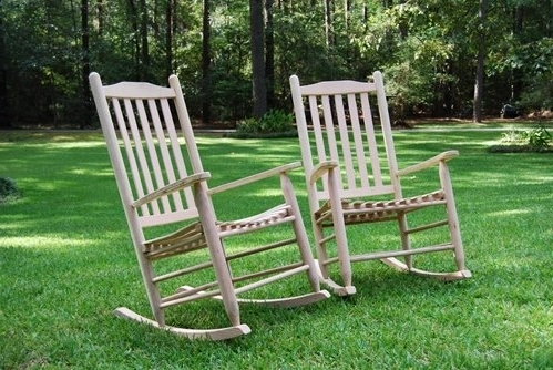 Most Recently Released Rocking Chairs For Outside Pertaining To Oak Rocking Chairs – Porch Swings – Patio Swings – Outdoor Swings (View 8 of 20)