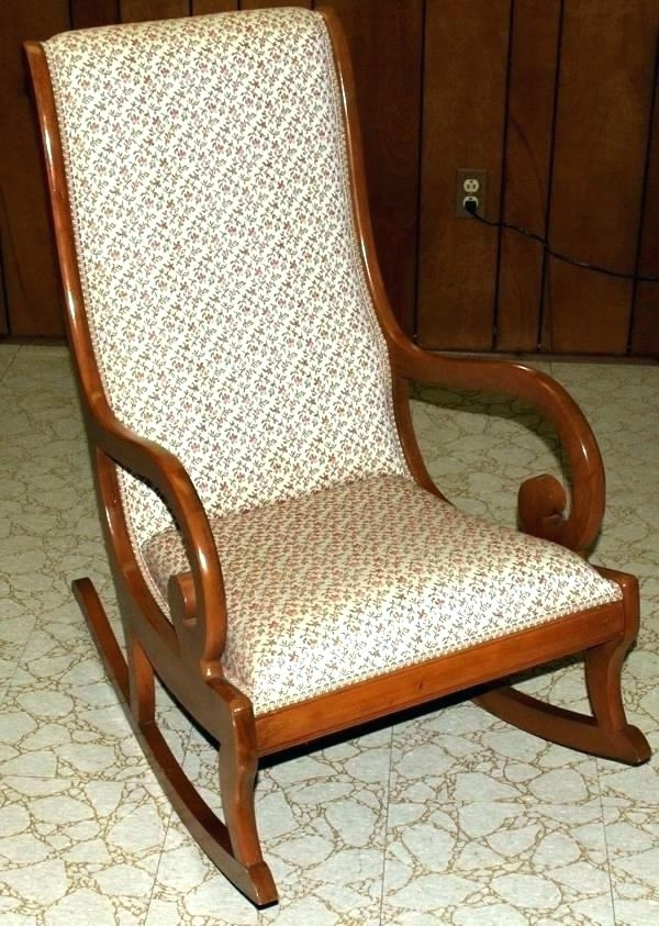 Most Recently Released Upholstered Rocking Chair Canada (View 19 of 20)