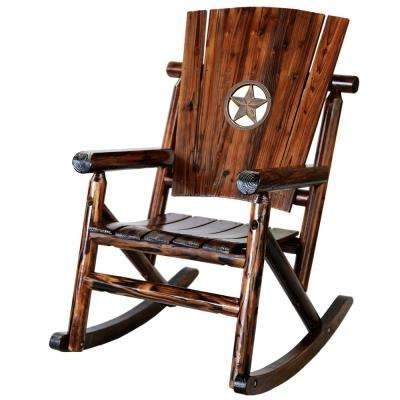 Most Recently Released Wood Patio Furniture – Leigh Country – Brown – Rocking Chairs In Wooden Patio Rocking Chairs (View 12 of 20)