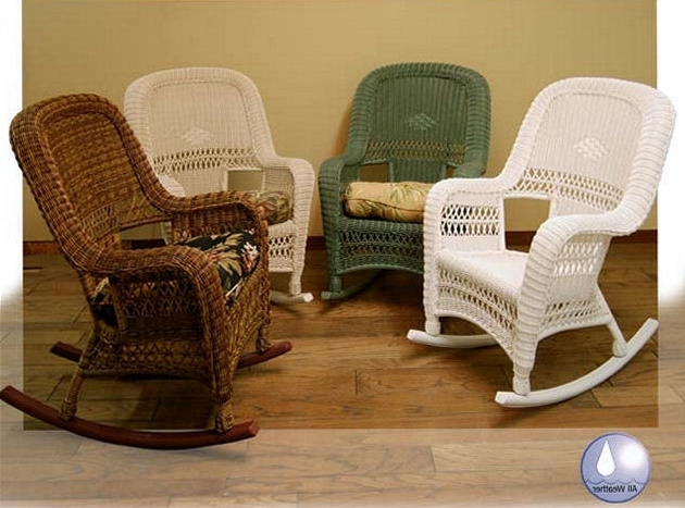 Most Up To Date High Back Wicker Rocking Chair (View 6 of 20)