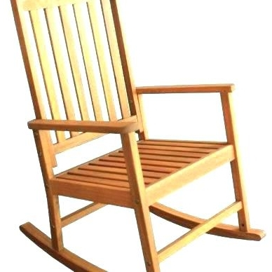 Most Up To Date Lowes Rocking Chairs Inside Wooden Rocking Chairs Outdoor Chair For Old Man Decor Lowes Wood (View 12 of 20)