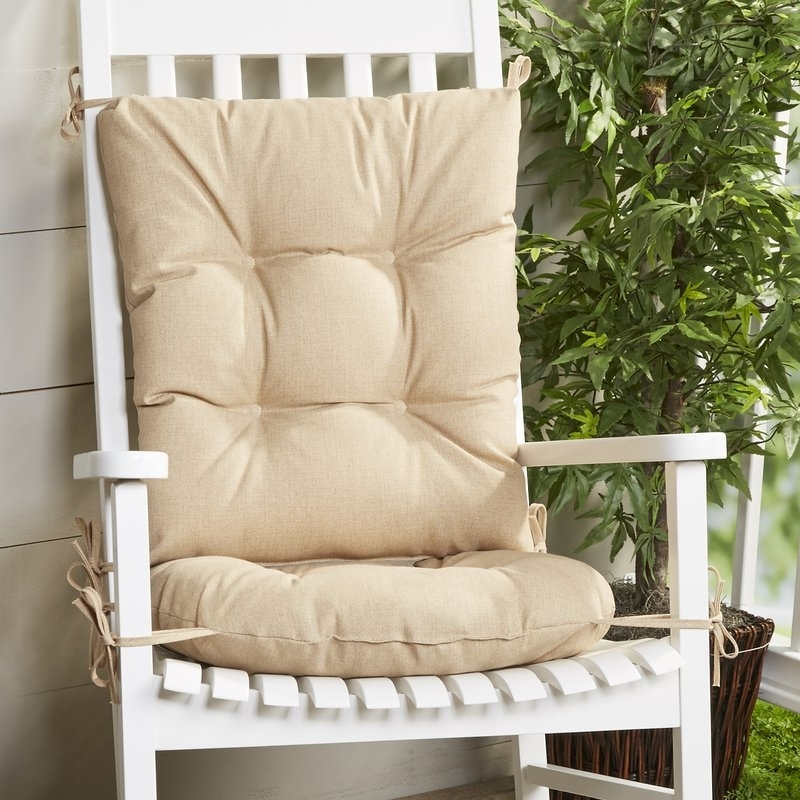 Most Up To Date Wayfair Basics™ Wayfair Basics Indoor/outdoor 2 Piece Rocking Chair With Rocking Chairs At Wayfair (View 11 of 20)