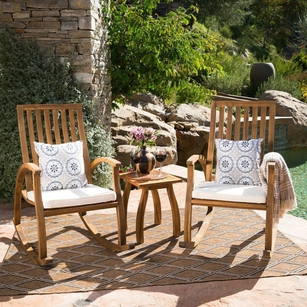 Most Up To Date Wooden Rocking Chairs Outdoor (View 9 of 20)