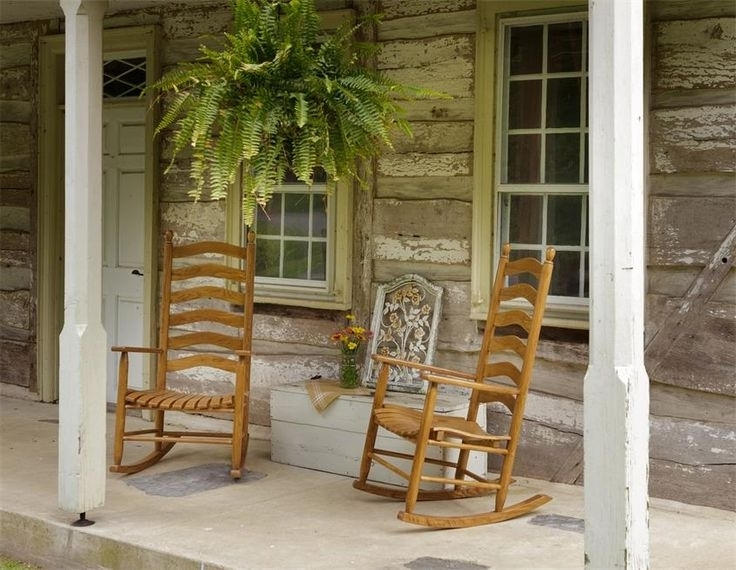 Newest 51 Best Outdoor Rocking Chairs Images On Pinterest Excellent Front With Regard To Rocking Chairs For Front Porch (View 9 of 20)
