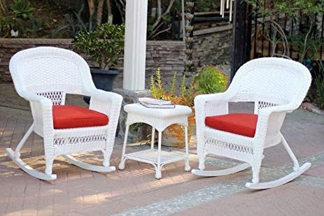 Featured Photo of Patio Rocking Chairs And Table