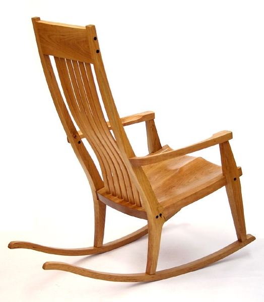 Newest Handmade Rocking Chairsscott Morrison Intended For Rocking Chairs With Lumbar Support (View 12 of 20)