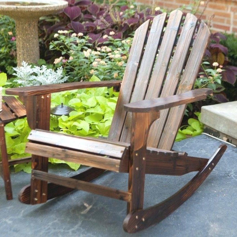 Newest Relax Lowes Outdoor Rocking Chair For The Care Of Your Feet — All In Lowes Rocking Chairs (View 14 of 20)