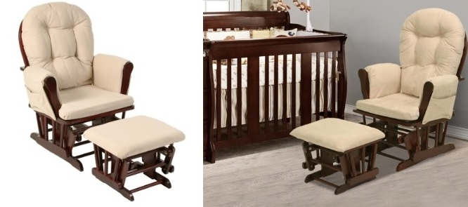 Newest Rocking Chairs With Ottoman In 17 Best Glider And Rocking Chairs For Nursery –  (View 9 of 20)