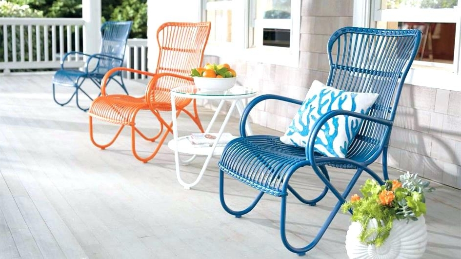 Newest Vintage Metal Outdoor Furniture For Sale Refined With Antique Patio With Vintage Outdoor Rocking Chairs (View 7 of 20)