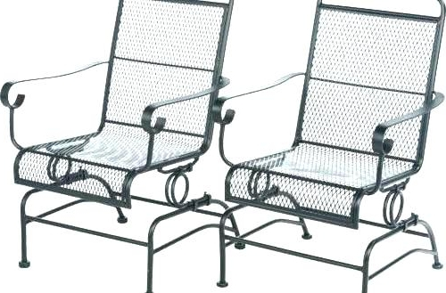 Outdoor Patio Metal Rocking Chairs With Regard To Best And Newest Outdoor Rocking Chairs Metal Outdoor Patio Furniture Metal Outdoor (Gallery 4 of 20)