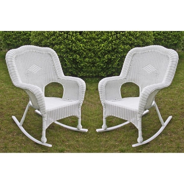 Outdoor Rocking Chair Set Of 2 (Gallery 13 of 20)