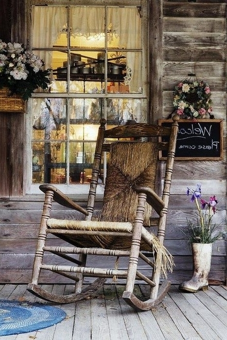 Outdoor Rocking Chairs – 27 Splendid Photos (Gallery 6 of 20)