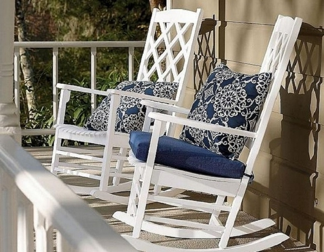Outdoor Rocking Chairs With Cushions Pertaining To Famous Outdoor Rocking Chair Cushion Guide (Gallery 7 of 20)