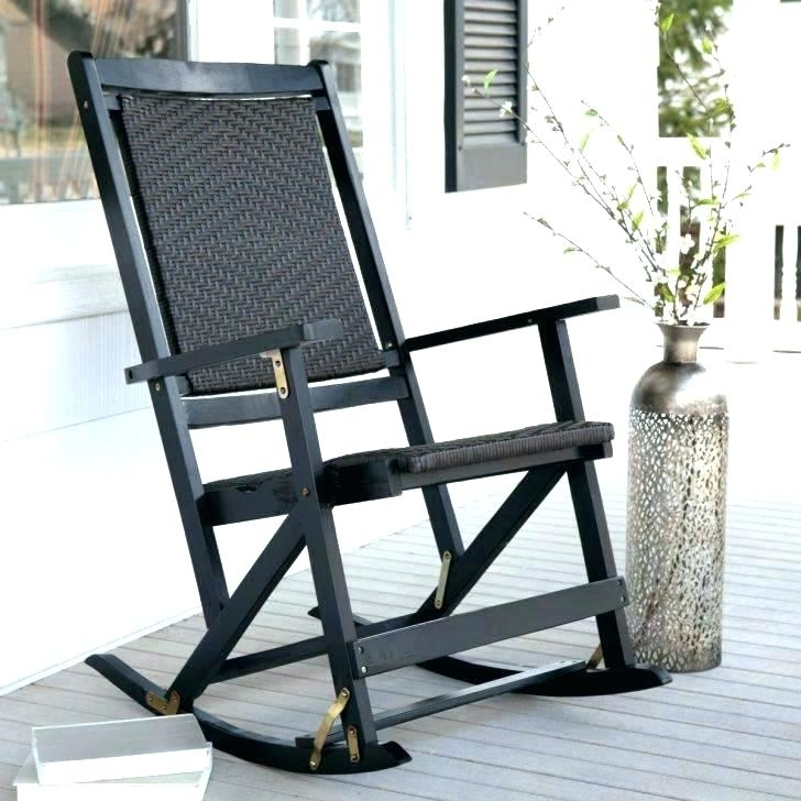 Outdoor Vinyl Rocking Chairs Inside Most Popular Exterior Rocking Chairs Outdoor Rocking Chair Lowes Outdoor Wood (Gallery 12 of 20)