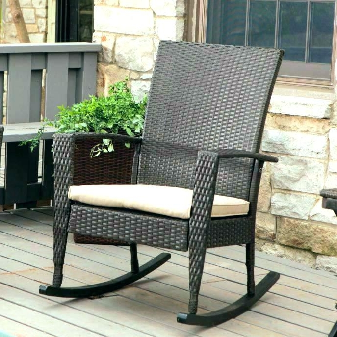 Outdoor Vinyl Rocking Chairs With Regard To Most Recent Living Heavy Duty Outdoor Wooden Rocking Chair Chairs For Adults (View 13 of 20)