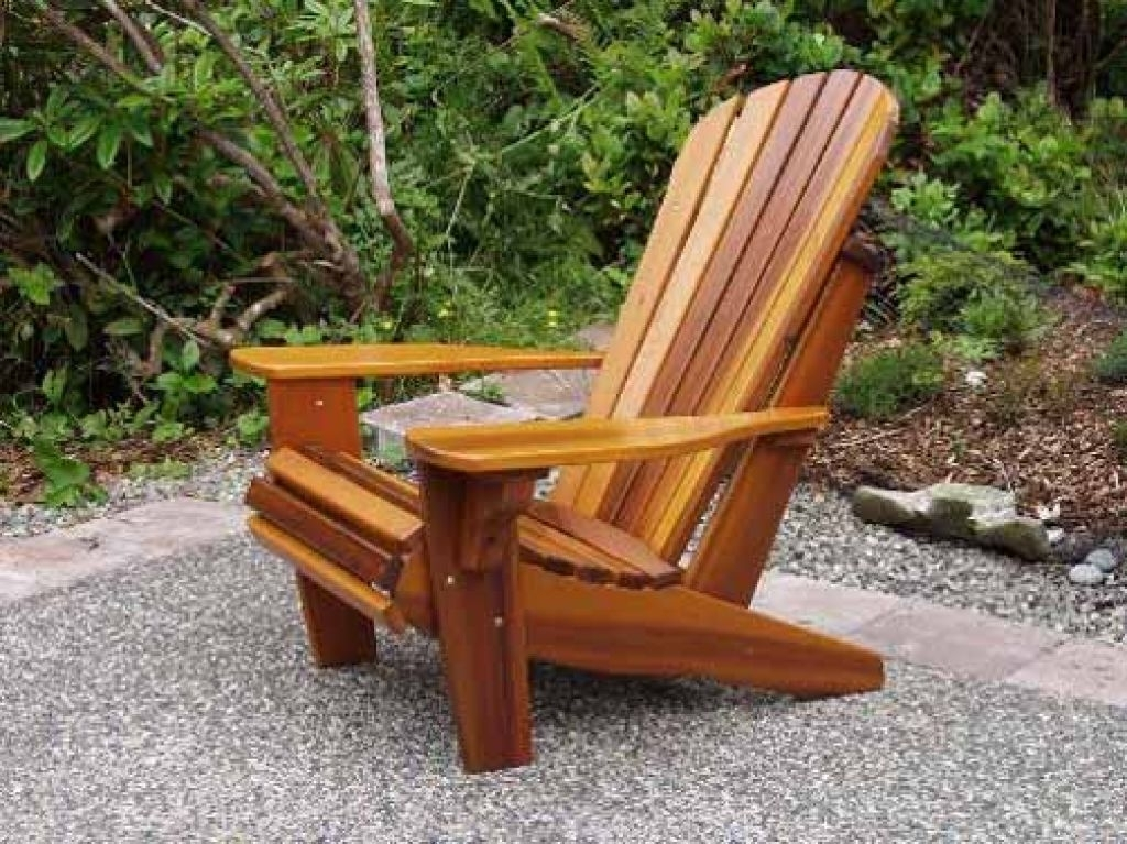 Outdoor Wooden Rocking Chairs For Garden (View 10 of 20)
