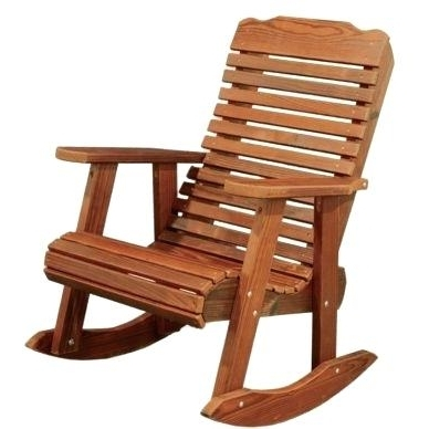 Outdoor Wooden Rocking Chairs Ideas Collection With For Adults Decor Within Most Recent Rocking Chair Outdoor Wooden (Gallery 11 of 20)