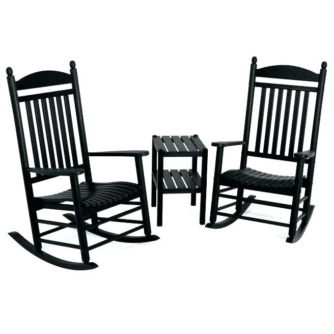 Outside Rocking Chair Sets Inside Best And Newest Outdoor Rocking Chair Set Patio Sets – House Decorative Newest (View 4 of 20)