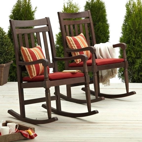 Outside Rocking Chairs Porch Rocking Chairs Image Rocking Chairs For For Well Known Rocking Chairs For Porch (View 6 of 20)