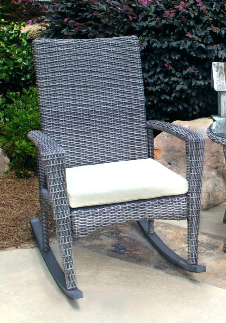 Oversized Patio Rocking Chairs Intended For Best And Newest Oversized Wicker Chair – Hyperraum (Gallery 18 of 20)